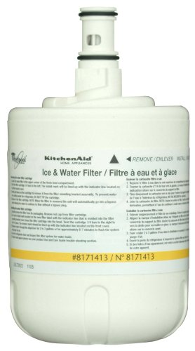 Whirlpool 8171413 KitchenAid Side-by-Side Refrigerator Water Filter, 1-Pack