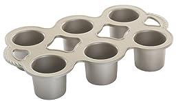 Nordic Ware Grand Popover Pan-Silver