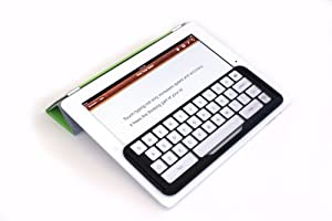 image of iPad with ikeyboard detachable keyguard