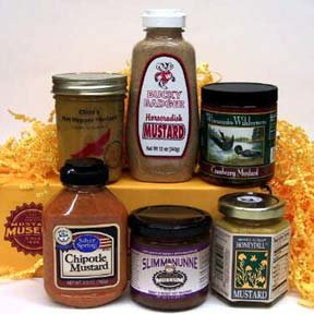 Wisconsin Mustard Six-Pack Sampler Gift Box