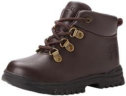 Polo Ralph Lauren Kids Hainsworth Boot (Toddler/Little Kid/Big Kid),Chocolate,10 M US Toddler