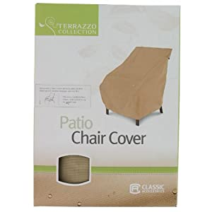 Classic Accessories Terrazzo Patio Chair Cover