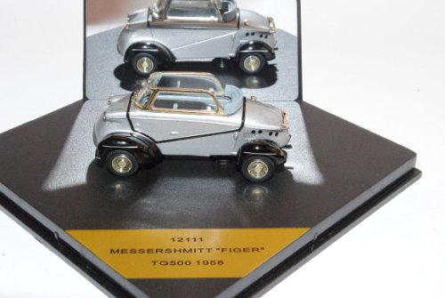MesseRSchmitt Tiger T500 1958 Silber 1/43 Vitesse Modell Auto