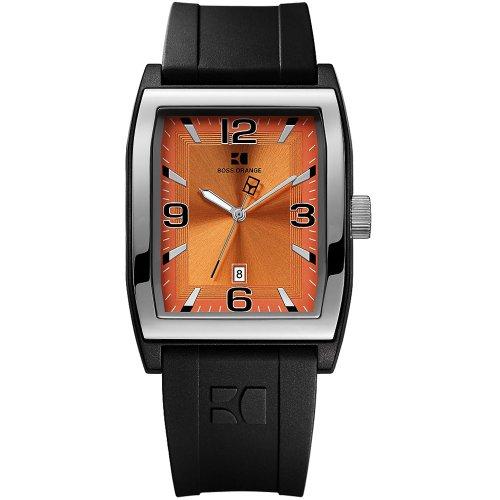 Boss Orange 1512683 Men's Rubber Strap Watch