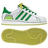 Adidas Superstar 2 Disney Kermit Toddler Infant Shoes (7)