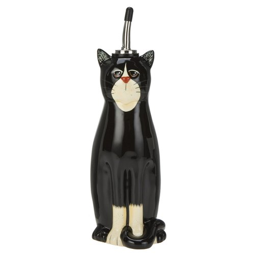 Country Cats Oil Cruet