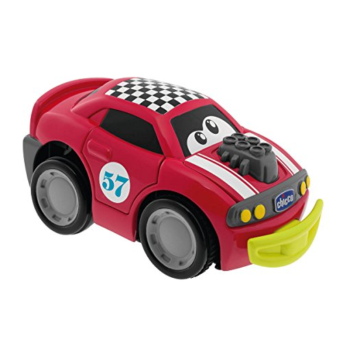 Chicco 6716 - Turbo Touch Crush Derby Macchina, Rosso