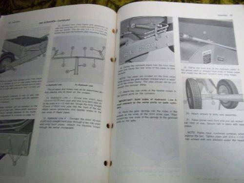 John Deere 200 & 650 Hydraulic Scrapers Oem Oem Owners Manual