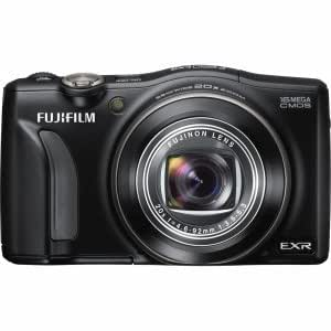 "Fujifilm FinePix F850EXR 16 Megapixel Compact Camera - Black - 3"" LCD - 20x Optical Zoom - Optical (IS) - 4608 x 3456 Image - 1920 x 1080 Video - HDMI - PictBridge - HD Movie Mode"