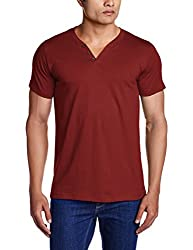 Chromozome Men's Cotton Vests (OS-2 J.Red1 S )