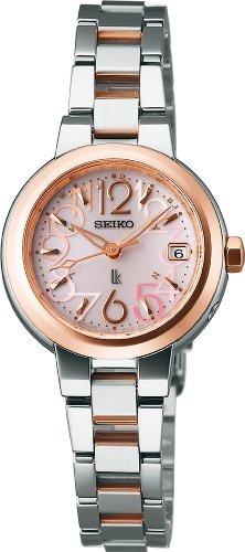 [セイコー]SEIKO 腕時計 LUKIA ルキア サファイアガラス スーパークリア コーティング ソーラー電波修正 武井咲着用モデル 広告宣伝モデル 日常生活用強化防水 (10気圧) SSVW018 レディース