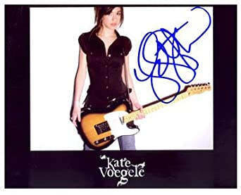 Kate Voegele 8x10 Autographed Photo