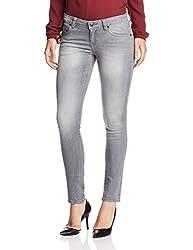 U.S.Polo Assn. Women's Skinny Jeans (UWJN0180_Grey_X-Large)