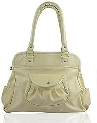 Regalovalle Women's Handbag (Cream,Lb-12)