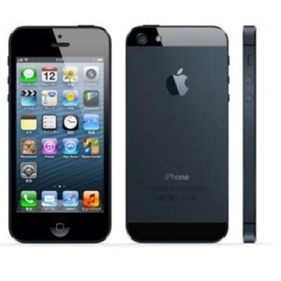 Apple iPhone5 LTE 16GB - GSM A1429 ブラック 海外版 SIMフリー