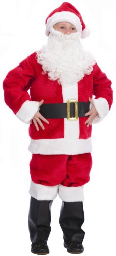 Halco Boys Santa Costume Red Size 6-16 [KC]