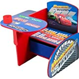 Toy / Game Delta Disney Cars Chair Desk W/ Pull Out Under The Seat Fabric Storage Bin - Makes A Great Gift Idea