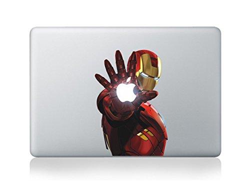 Ironman Macbook Graphic Skin Design Air Pro Stickers Mac Apple Laptop 13 Bonus Free Sticker