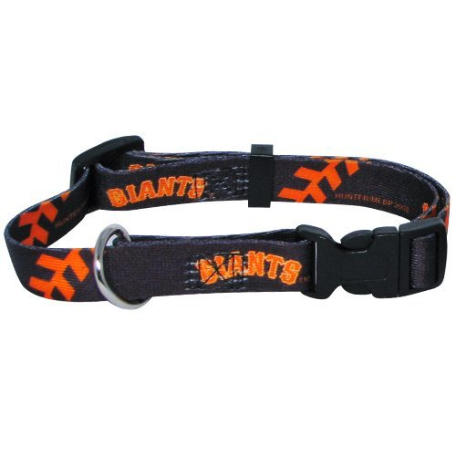 mlb-san-francisco-giants-adjustable-pet-collar-xx-small-team-color-by-hunter-mfg-llp