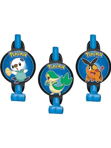 Pokemon 'Birthday' Blowouts / Favors (8ct) - 1