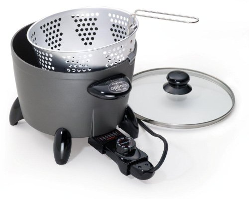 New Presto 06003 Options Electric Multi-Cooker/Steamer
