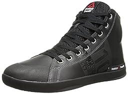 Reebok Women\'s Crossfit Lite TR Training Shoe, Black/Flat Grey, 7.5 M US