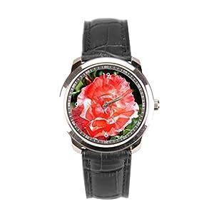 sanYout Leather Watch Mens Orange Cheap Wrist Watches Angelika Moethrath Handmade Leather Watch Straps Photo