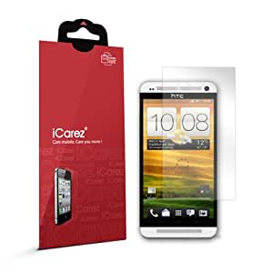 iCarez Oleophobic anti-fingerprint screen protectors for HTC One high quality (2 Pack)