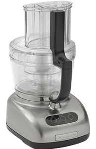 KitchenAid 700-Watt 12-Cup Food Processors (Polished Nickel Metal)