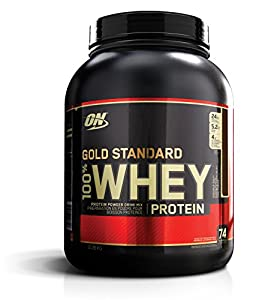 Optimum Nutrition 100 % Whey Gold Standard Protein Double Rich Chocolate, 1er Pack (1 x 2273 g)