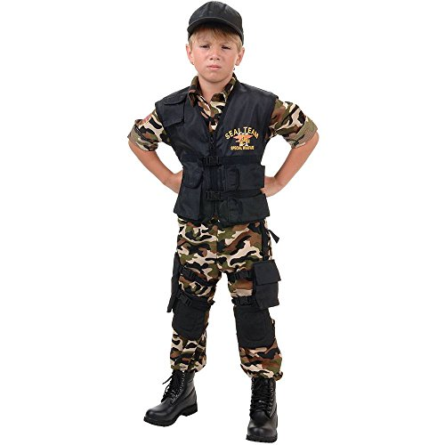 Navy SEAL Team Deluxe Kids Costume