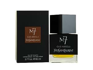 Yves Saint Laurent M7 Oud Absolu 80ml Eau de Toilette Spray für Ihn, 1er Pack (1 x 80 ml)