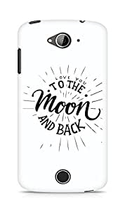 AMEZ love you to the moon and back Back Cover For Acer Liquid Z530