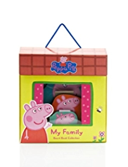 Peppa Pig My Family Board Book Collection