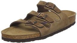 Birkenstock Women\'s Florida Soft Footbed Sandal,Cocoa Nubuck,42 EU/11 B(M) US Women/9 D(M) US Men