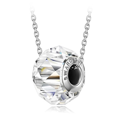 Christmas Gift Clear Swarovski Elements Crystal Pendant Elegant and eye-catching, this on-trend silhouette demonstrates Swarovski's craftsmanship at its best – 100% Satisfaction or Money Back Guarantee!