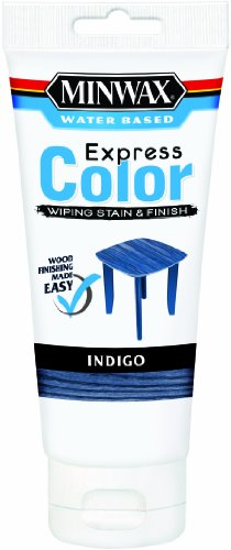 Minwax 30807 Water Based Express Color Wiping Stain and Finish