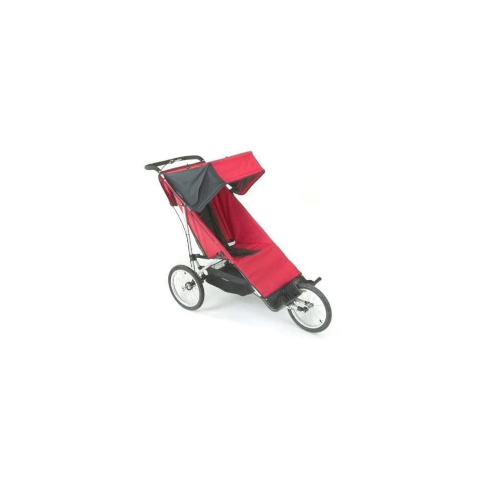 Baby Jogger Freedom Jogger Special Needs In Red Black On Popscreen