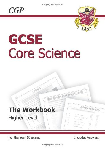 Gcse Core Science Workbook (Including Answers) - Higher