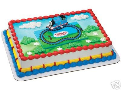 Thomas Tank Engine Cake Decoration Kit : Thomas the Tank Engine Wind-up Train Cake Decorating Kit ...