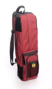 """NEW! Ember MatPak YOGA BAG by YogaRat. Durable and versatile yoga mat bag holds your yoga mat and other essential gear. Made from recycled plastic bottles. Accommodates even XL mats of up to 26"""" x 85""""!"""