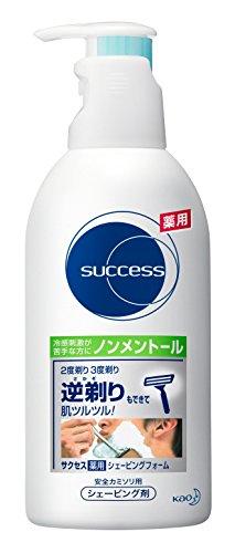 サクセス薬用シェービングフォーム(ノンメントール)/250g