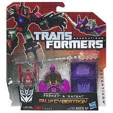 Deception Frenzy And Ratbat Fall Of Cybertron Transformer - 1