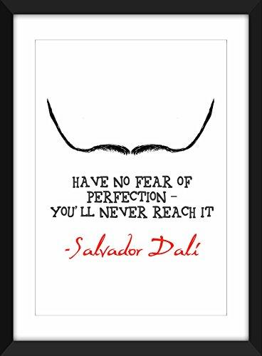 """Salvador Dali """"Perfection"""" / A4 / A3 / 8 x 10/5 x 7 """"Stampa, Tipografia Arte, regalo per gli amanti d'arte A5"""