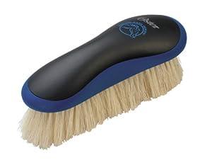 Oster Equine Care Series Finishing Brush, Soft Bristle, Natural Hog Hair, Blue