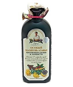 Hair Shampoo Against Hair Loss And Breakage, GRANDMOTHER AGAFIA'S RECIPES 350ml.