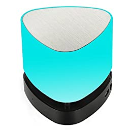 Gosund Z1 4.0 Stereo Bluetooth Speakers with Smart APP control LED Night light Lamp Mini Portable for Hands Free Phone Call