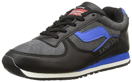Kaporal - Joggy, Sneakers per bambini e ragazzi, nero (noir/bleu), 31