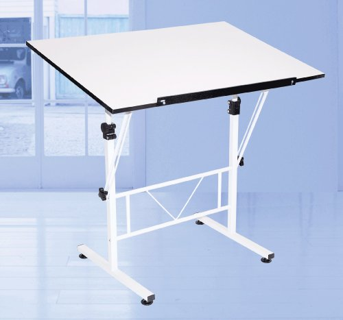 Folding Drafting Table front-1008423