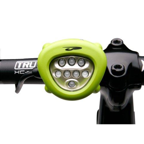 Princeton Tec Corona Bike Cbk-Gr Head Light Led - Aa - Green (Catalog Category: Outdoor Lighting)
